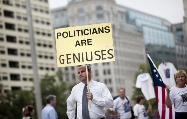 Politicians are geniuses
